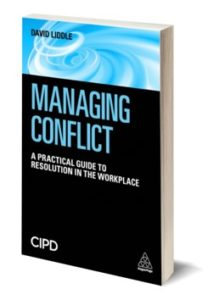 Managing Conflict by David Liddle. Available to purchase from Amazon